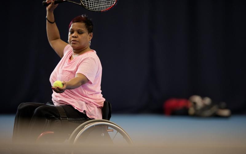 This Girl Can Wheelchair Tennis