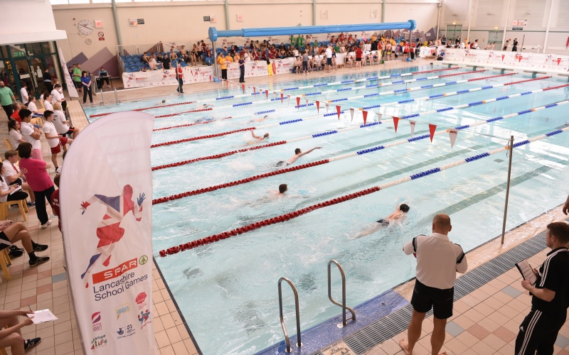 Lancashire Schools Make A Splash At Disability Swim Gala