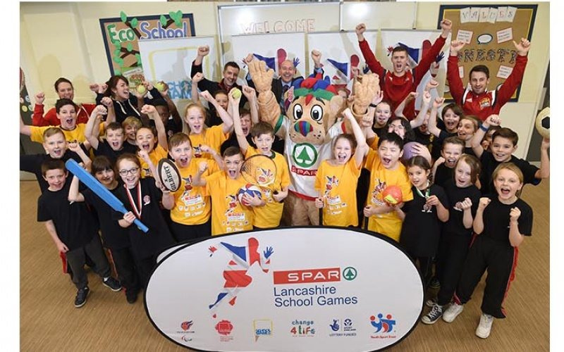 Bowerham Primary School launch the SPAR School Games 2016