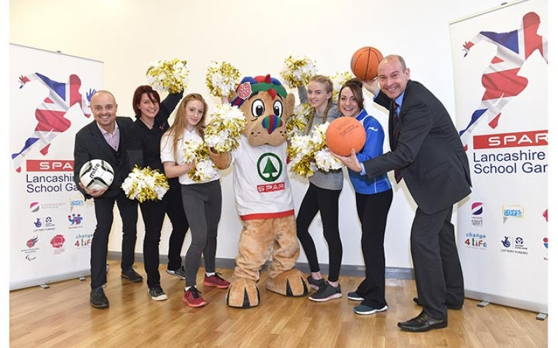 Leyland St Mary's Catholic Technology College launch the SPAR School Games 2016