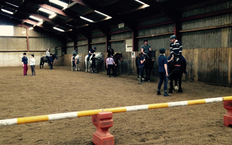 Riders taking up the reins and learning the controls