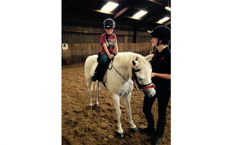 Proving ridings not just for girls