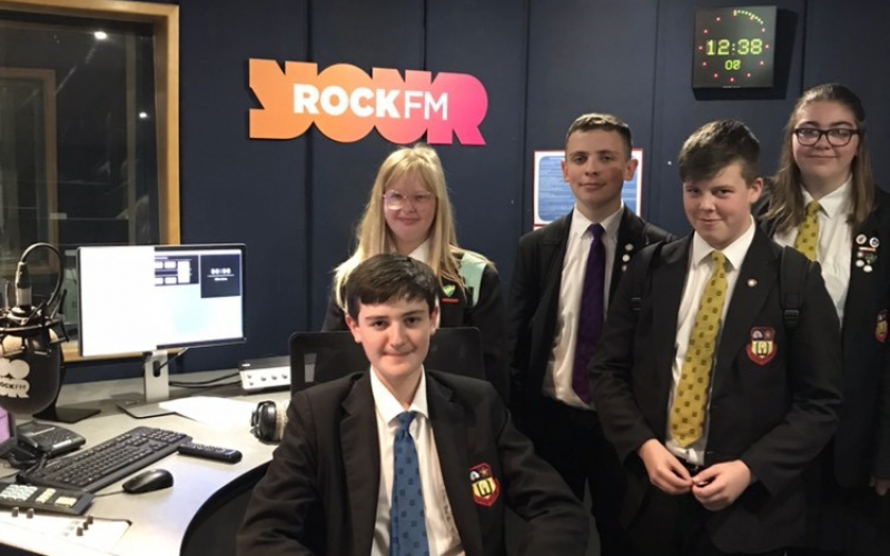 Walton le Dale Volunteers at Rock FM