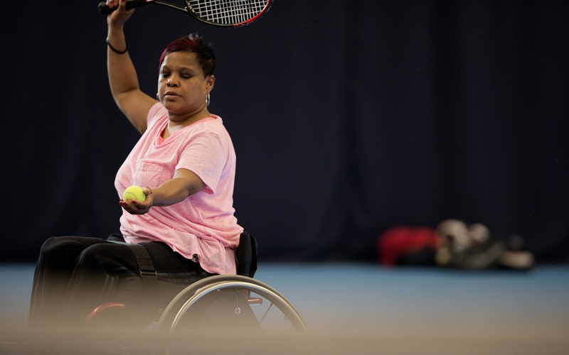This Girl Can Wheelchair Tennis