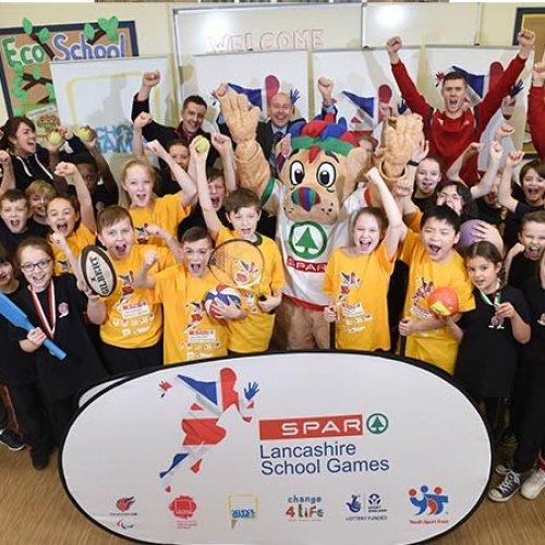 SPAR Lancashire School Games